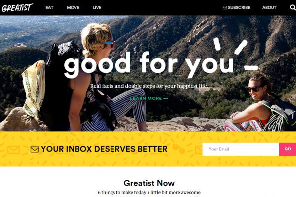 针对千禧一代的新锐健康媒体网站 Greatist 完成450万美元 A轮融资