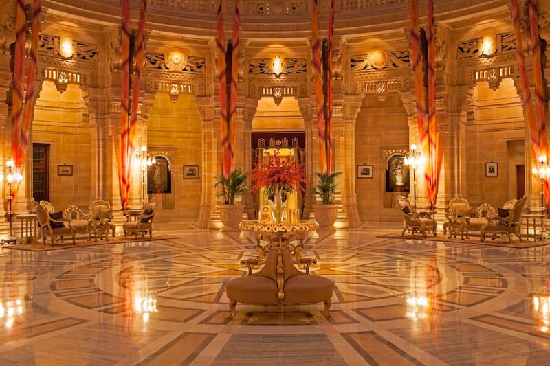 TripAdvisor 用户票选全球25佳酒店,印度 Umaid Bhawan Palace 荣登榜首