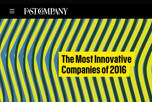 7家时尚和生活方式公司跻身《快公司》2016年全球 50佳创新公司榜单