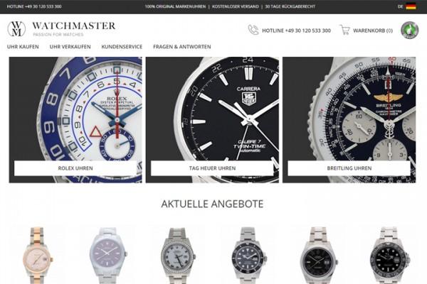 二手高档手表交易平台Watchmaster完成800万美元B轮融资