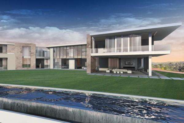 洛杉矶将出现全球最贵豪宅:造价5亿美元,有两个白宫那么大