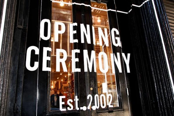 纽约著名时尚买手店 Opening Ceremony 迎来中国年,邀请中国新锐设计师品牌入驻