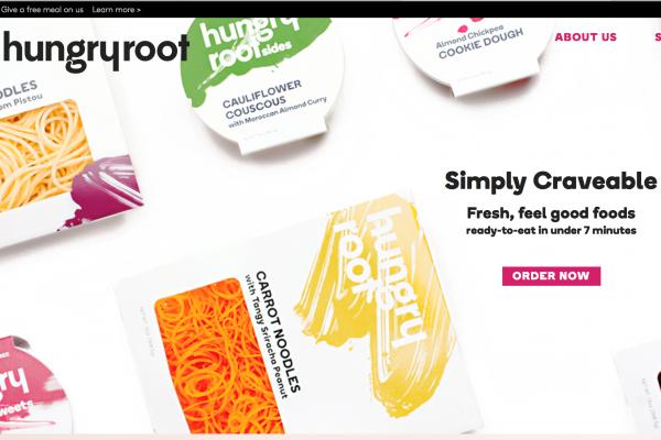 有机蔬菜面条 HungryRoot 完成 370万美元 A轮融资,进军地面零售渠道