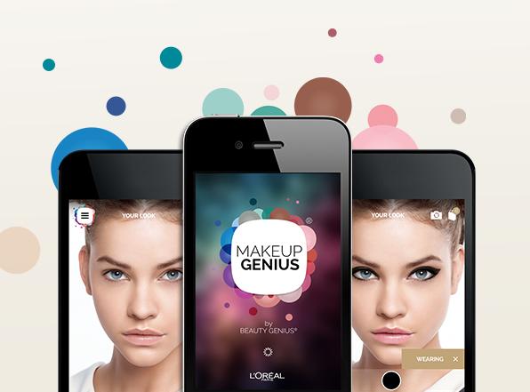 """欧莱雅与 Image Metrics 独家合作,进一步开发""""增强现实""""应用 Makeup Genius"""