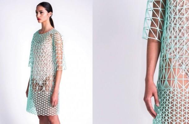 英国大学推出可穿性更强的 3D 打印服装,制作一件耗时62小时