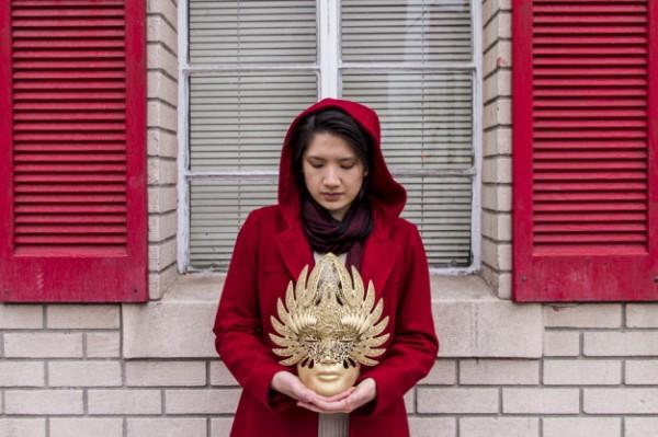 纽约华裔艺术家 3D打印的盔甲面具惊艳四方