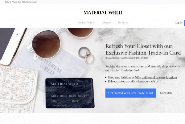 二手时尚奢侈品交易平台 Material Wrld 获 900万美元 B轮融资