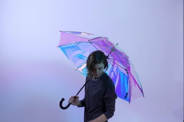 预报天气、防丢、还能安装GoPro 的智能雨伞 oombrella