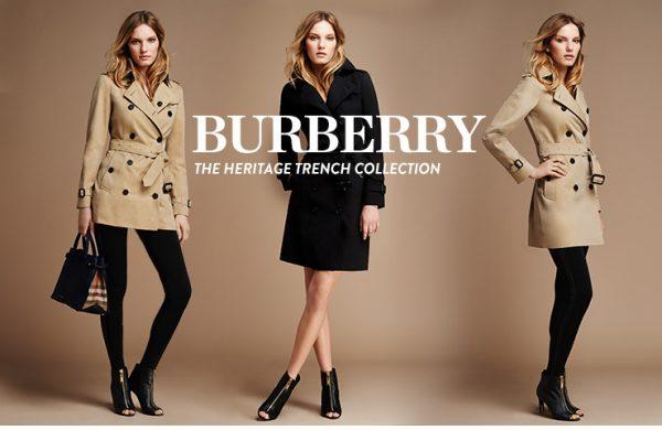 欧洲游客消费剧烈下滑,港澳持续疲软,Burberry 2015财年下半年销售额下降1%