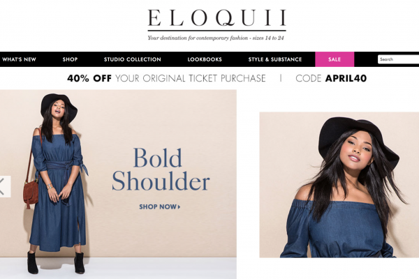 快时尚大码女装电商 Eloquii 获 1500万美元B轮投资