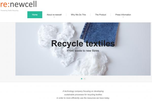 旧衣变成高品质环保纤维!瑞典纺织品回收公司要革新时装业
