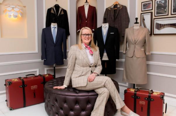 伦敦男装定制的圣地 Savile Row 迎来第一位女裁缝开店