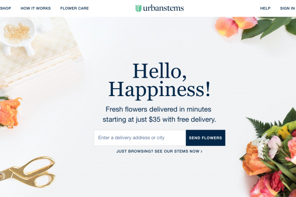 华盛顿按需鲜花配送服务公司 UrbanStems 获680万美元 A轮投资