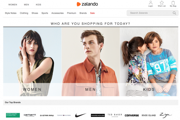 欧洲时尚电商 Zalando销售增速放缓,Beyoncé个人品牌上线推动增长