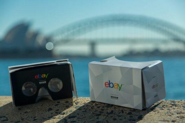 eBay 携手澳洲 Myer 百货推出全球首家虚拟现实百货店