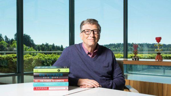 比尔·盖茨希望你今年夏天读这五本书