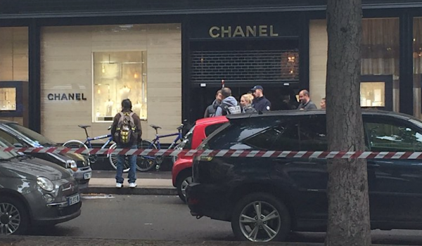 Chanel 巴黎门店三周内第二次遭遇抢劫