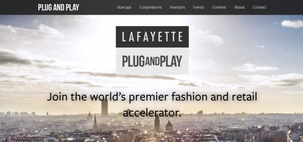 老佛爷百货联手全球创新平台 Plug and Play,成立时尚科技创业加速器