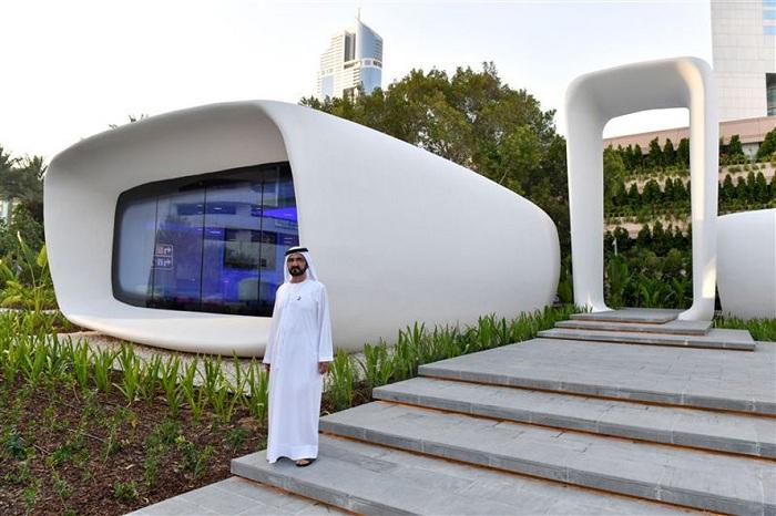 全球首座 3D打印的完整建筑落成,成本为传统建造方式的一半