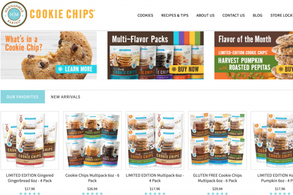天然曲奇品牌 Cookie Chips 获私募基金 ACG 大笔股权投资