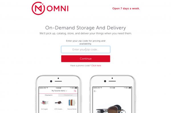 把家里的储藏间搬到外面!自助存储公司 Omni 获 700万美元A轮投资