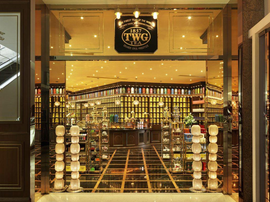 上海港汇恒隆广场的TWG Tea(2)