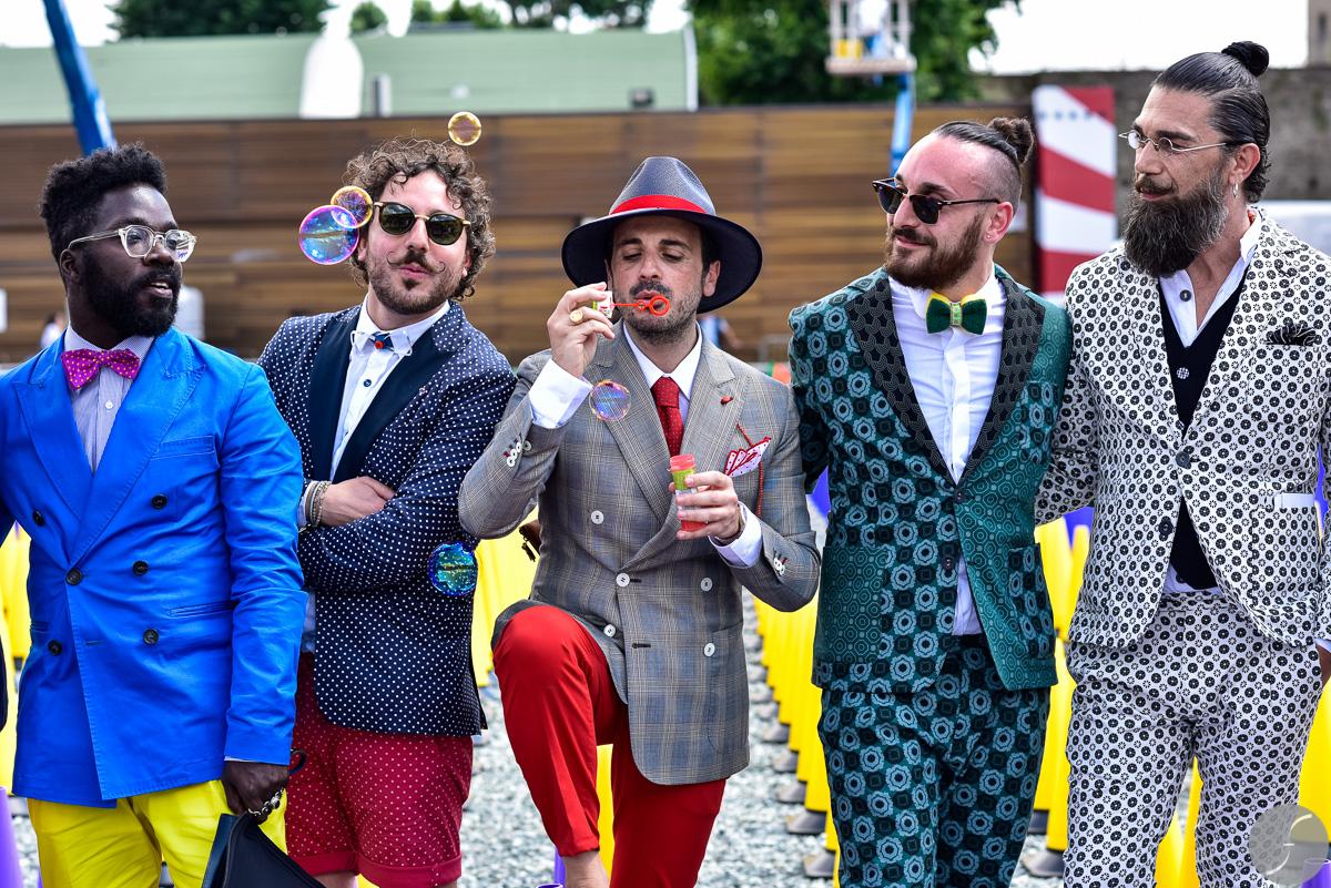 走过45年风雨,意大利男装展 Pitti Uomo为何能聚集全球最顶尖的男装品牌、买手和型男博主?