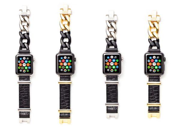 越来越潮范!日本时装品牌 Sacai 为苹果手表推出设计师表带系列