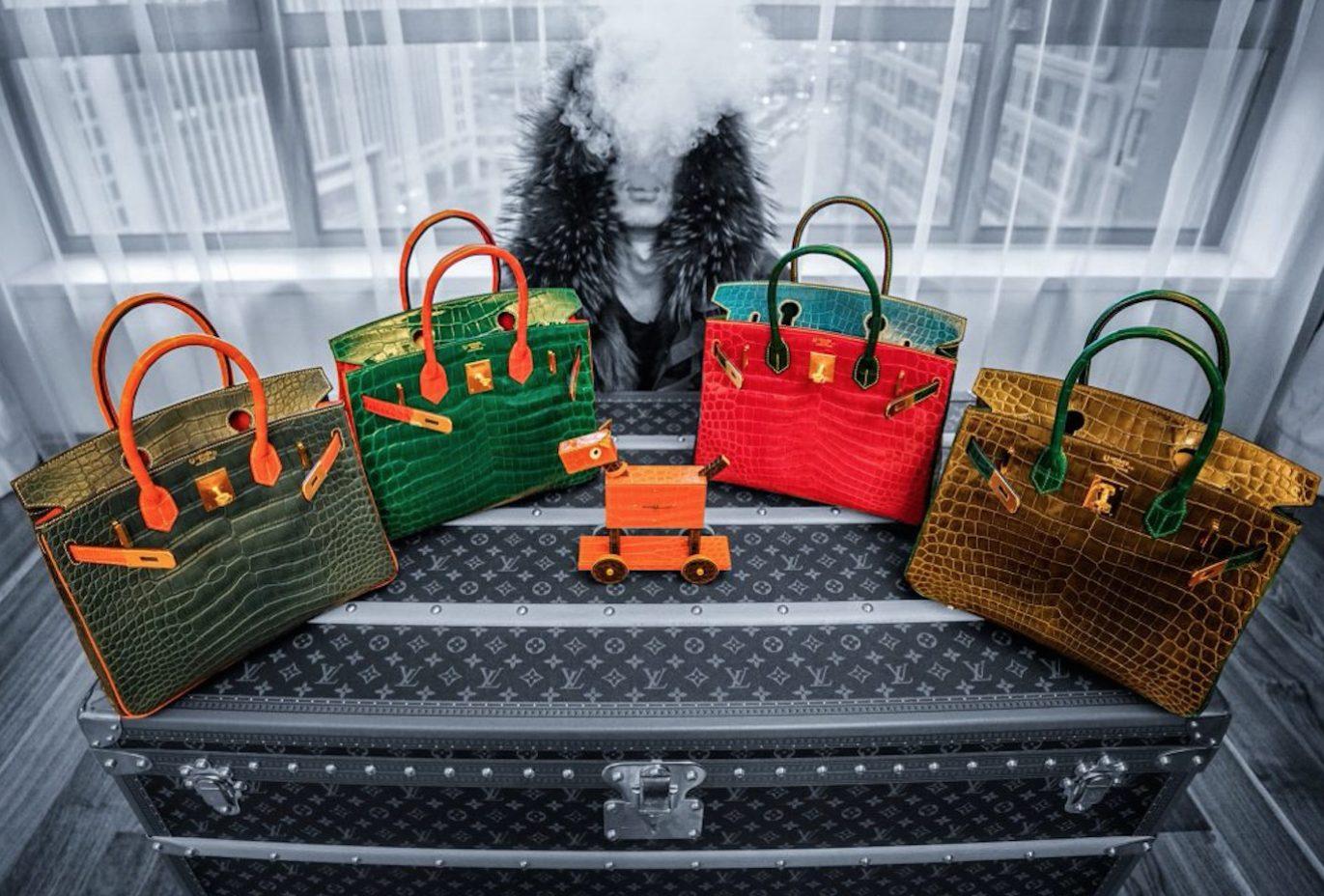 《华丽志》独家特别报道:带着16只爱马仕包袋到佳士得拍卖是怎样一种体验?