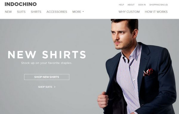 互联网男装新锐 vs. 传统男装零售巨头,Indochino 与 Men's Wearhouse 母公司业绩对比