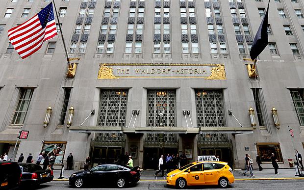 中国安邦筹划将纽约华尔道夫酒店的3/4改造为高级公寓