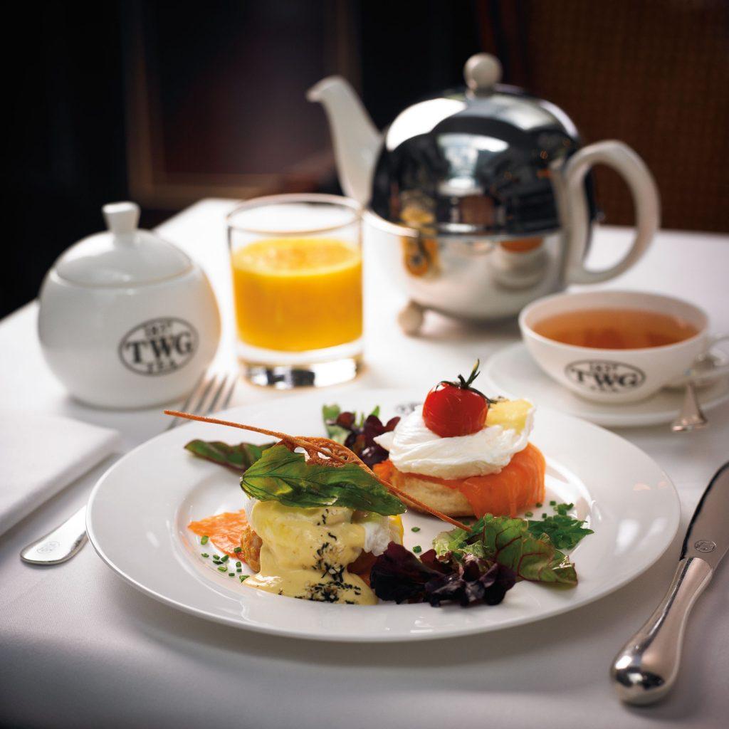 TWG Tea 纽约早餐