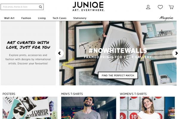 去年销售增长5倍!德国艺术品电商 JUNIQE 再融资1400万欧元