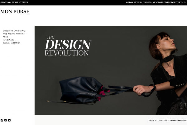 让用户自己设计包袋,在欧洲定制:Mon Purse 获 310万美元 A轮融资