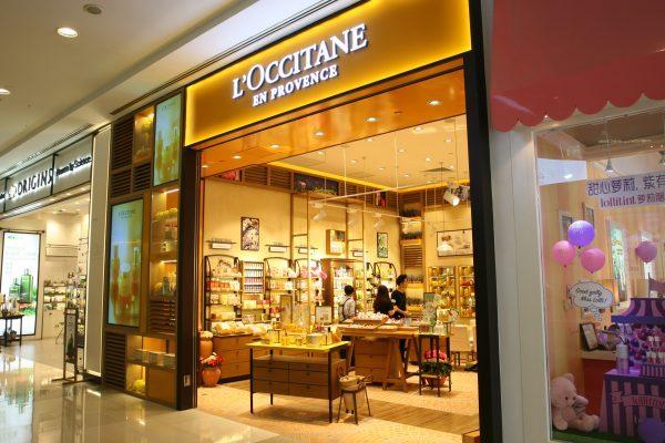 欧舒丹L'Occitane 上一季度中国大陆销售额下降5.3%,港澳大跌19.8%
