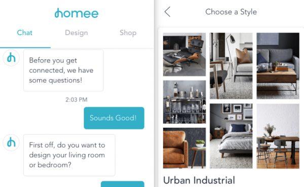 为你对接最合适的室内设计师,家装电商 Homee完成A轮融资 500万美元