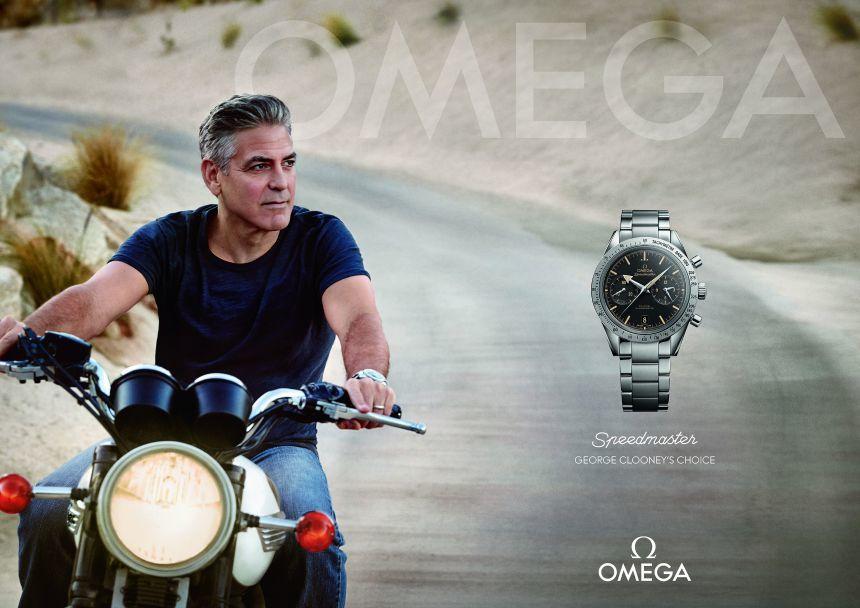 George-Clooney-Omega-Speedmaster-ad