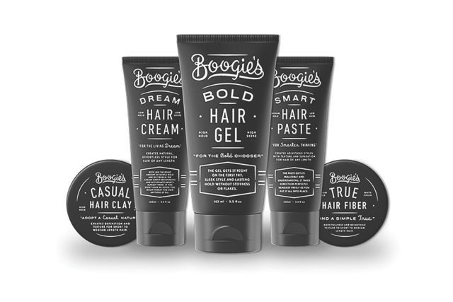 The Dollar Shave Club hair care range.