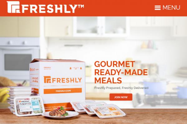 健康美食速递服务公司 Freshly 完成 B 轮融资 2100万美元