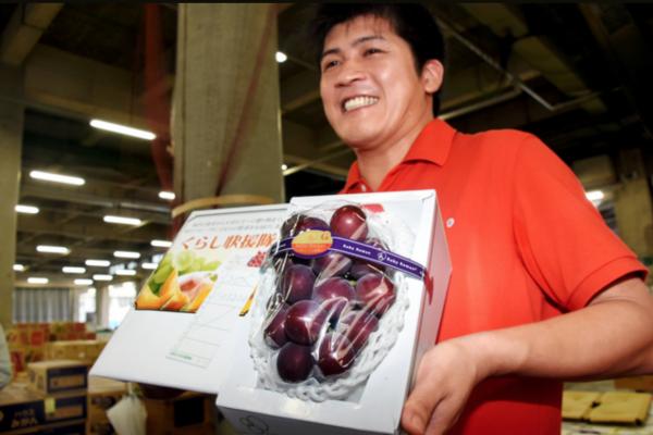 日本拍出史上最贵葡萄,每颗2400元人民币,买家将免费派送