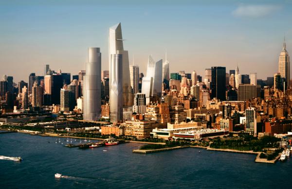 美国最大私有房产开发项目 Hudson Yards 最高住宅楼完成资本化,估值约20亿美元