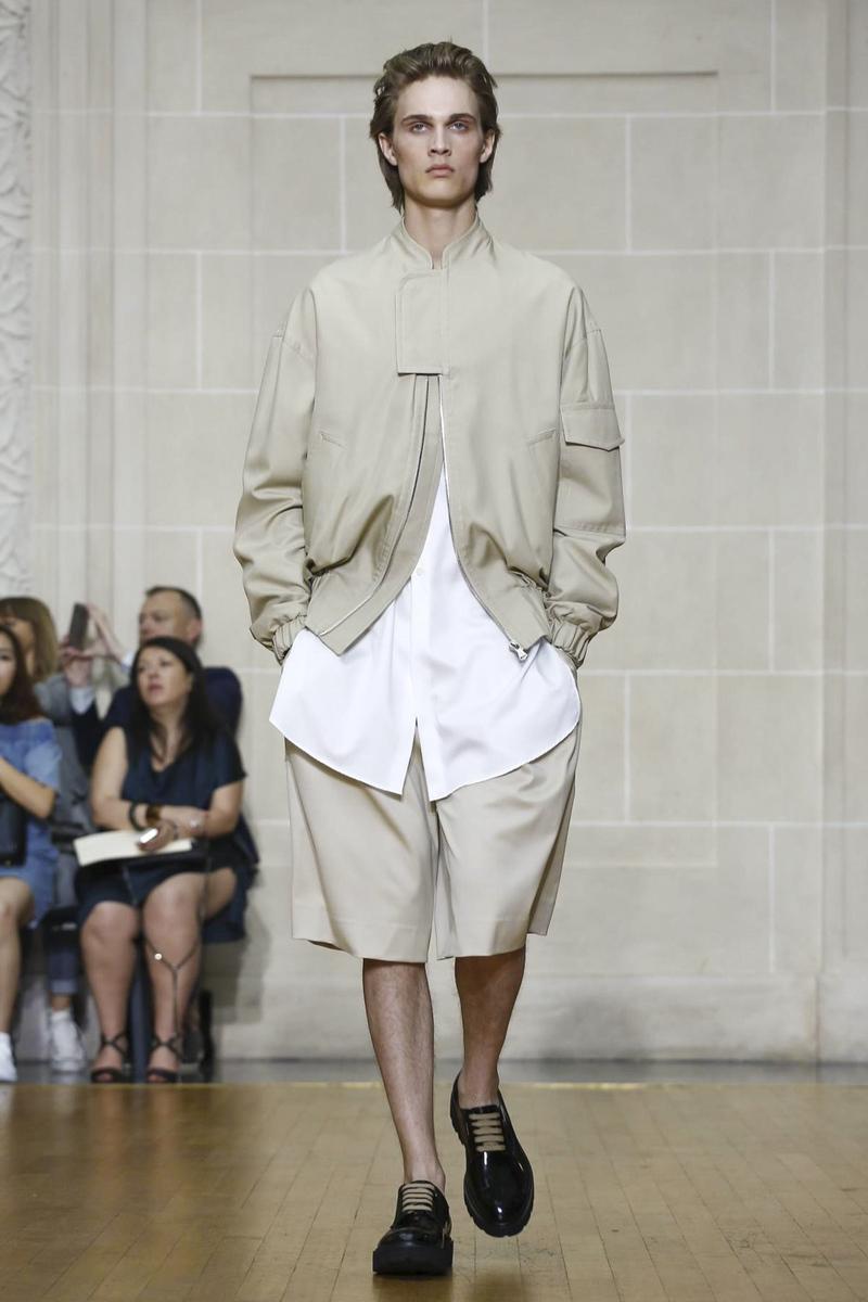 Sean Suen, Fashion Show, Menswear Collection Spring Summer 2017 in Paris