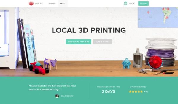 全球最大线上 3D打印平台 3D Hubs完成 B 轮融资 700万美元