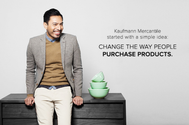 高端生活方式产品线上交易平台 Ahalife 收购同行 Kaufmann Mercantile