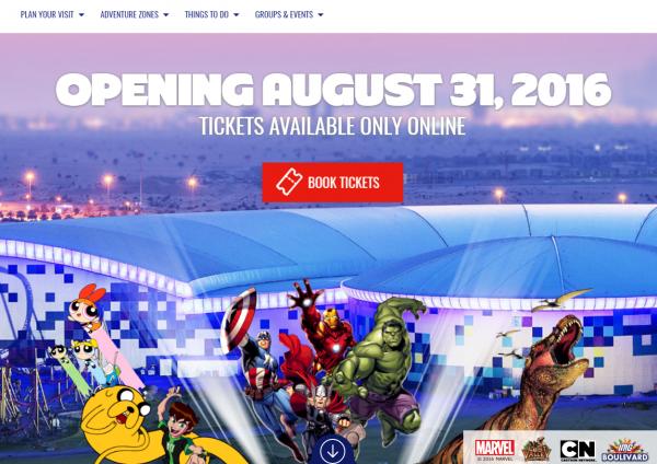 全球最大室内主题公园 IMG Worlds of Adventure 落户迪拜,本月底开园