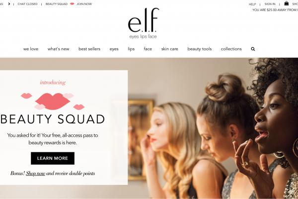 """""""快美妆""""先行者:美国品牌 e.l.f. Cosmetics 提交 IPO 申请,去年销售2亿美元"""