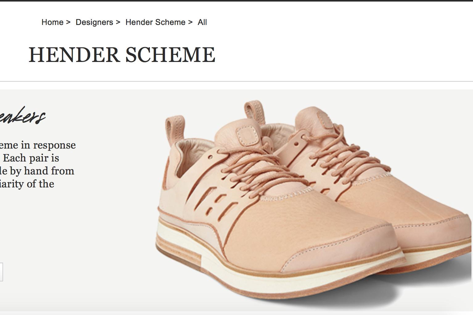 用天然皮革重新诠释经典款运动鞋!详解日本奢侈手工皮具品牌 Hender Scheme