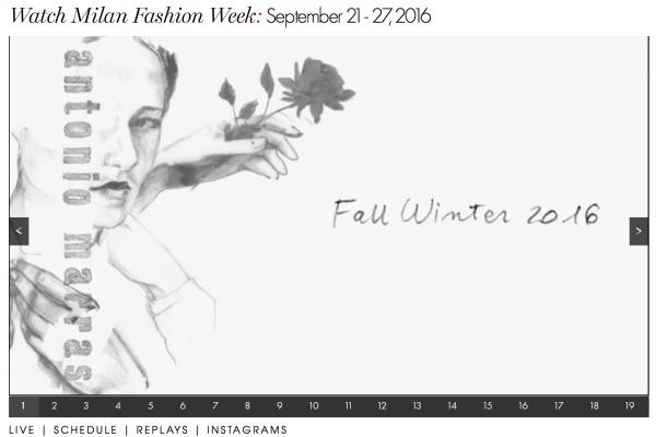9月米兰时装周最新日程公布,中国独立设计师品牌 Uma Wang连续第五年参展