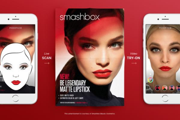 ModiFace 升级虚拟试妆技术:对着图片视频扫一扫,瞬间明星妆容就上自己的脸