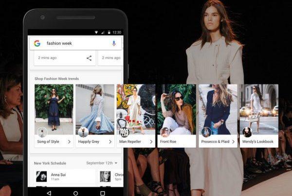Google 深度涉足时装周,与多家设计师品牌达成搜索引擎合作
